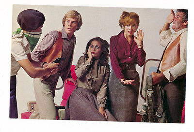 The Tannery West Postcard Rare VIntage 1970s Fashion Style Ad Hijacked!
