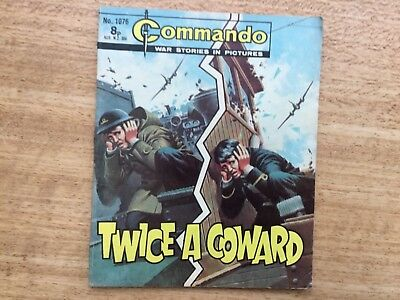 Commando War Comic - No 1076 Twice A Coward