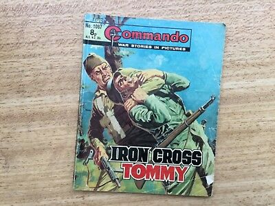 Commando War Comic - No 1087 Iron Cross Tommy