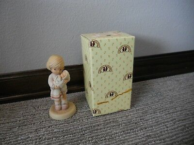 Vintage 1987 Enesco Memories of Yesterday Can I Keep Her Mommy? #114545 IOB