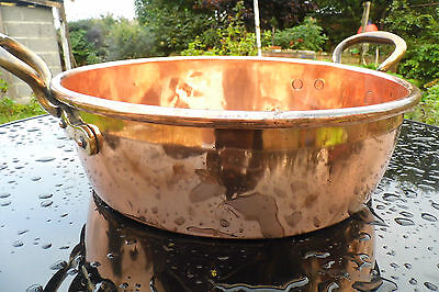 Victorian Jam Pan Country House  Copper large antique English Pan Preserving
