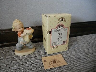 Vintage 1989 Enesco Memories of Yesterday As Good As His Mother Ever Made IOB