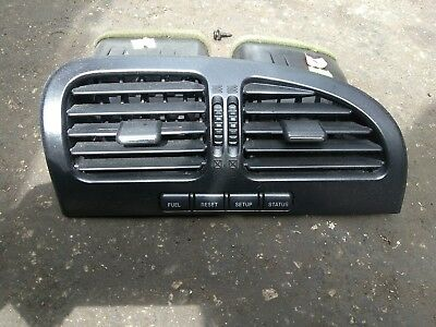 2000-2002 lincoln ls center dash vents with info switches