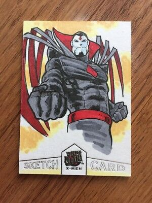 2018 Fleer Ultra X-Men Mister Sinister Sketch Card 1/1 by Andre Ribeiro