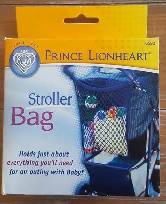 Prince LionHeart Stroller Bag Net in Navy Blue #6590 NIP