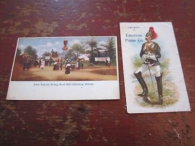 2 Piece Trade Card Lot SOUVENIRS of the BLOOMSBURG FAIR Bloomsburg Pennsylvania