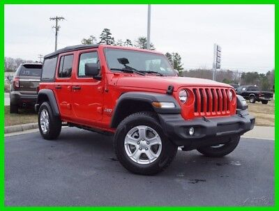 Jeep Wrangler Unlimited Sport S 2018 Unlimited Sport S New 3.6L V6 24V Manual 4WD SUV