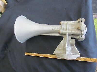Vintage Leslie Supertyfon Train Air Horn M44 Tested and Working