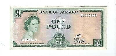 Jamaica - One (1) Pound 1964