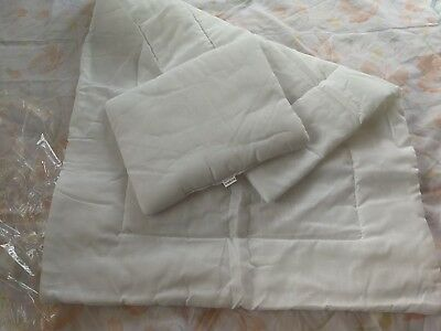Cotton Duvet and Pillow for Baby Crib