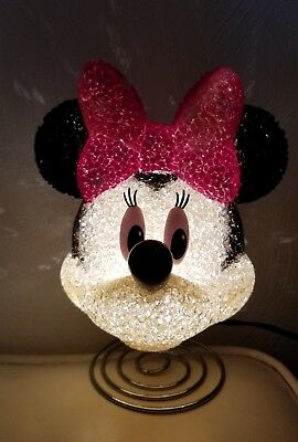 Minnie Mouse Melted Popcorn Lamp. Extra Fuse.