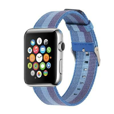 oft Breathable Woven Nylon Replacement Sport Loop Band for Apple Watch 42mm
