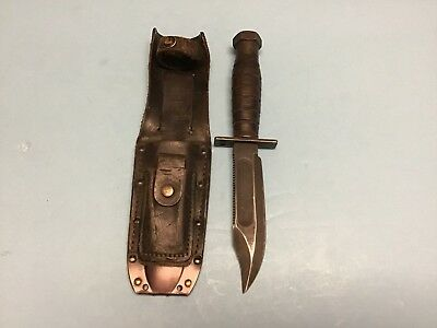 Camillus Jet Pilot Knife With Scabbard