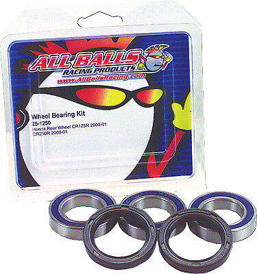 All Balls Wheel Bearing and Seal Kit Rear 25-1487