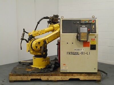 FANUC WELDING ROBOT Arcmate 120IL WITH R-J3 CONTROL