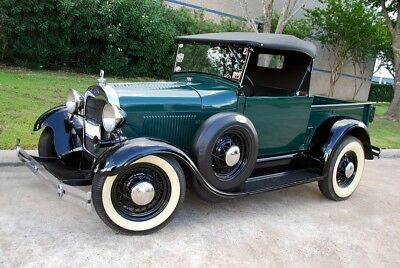 1929 Ford Model A Roadster Pickup Original 40's Hot Rod With Modern Upgrades