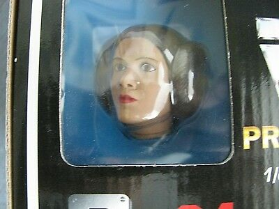 Vtg 1995 Star Wars Polydata Princess Leia Organa 1/6 Pre-Painted Vinyl Model 1:6