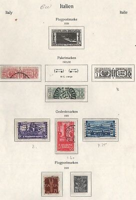 Italy Lot Of Old Stamps #6W