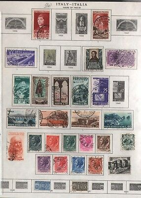 Italy Lot Of Old Stamps #9W