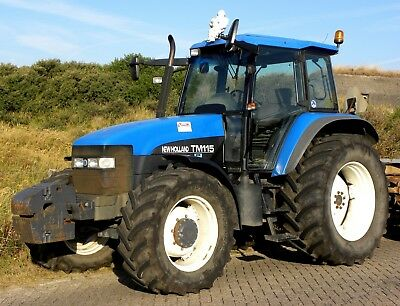 New Holland TM Series (TM115 TM125 TM135 TM150 TM165) Workshop Manual