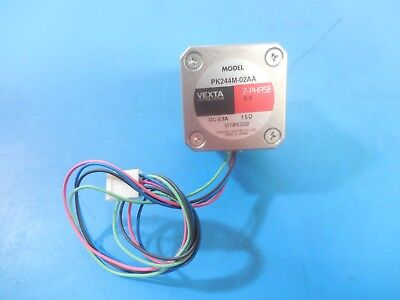 Vexta PK244-02AA 2-Phase 0.9° DC 0.8A 7.5Ω Stepping Motor