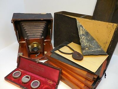 Antique / Vintage Camera , Wollensak ? Gennert ? Sears ? Old - Parts Or Repair