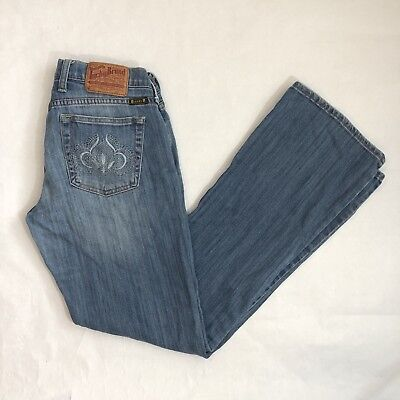 Lucky Brand Womens Jeans Size 4/27 Sweet N' Low Embroidered Pockets