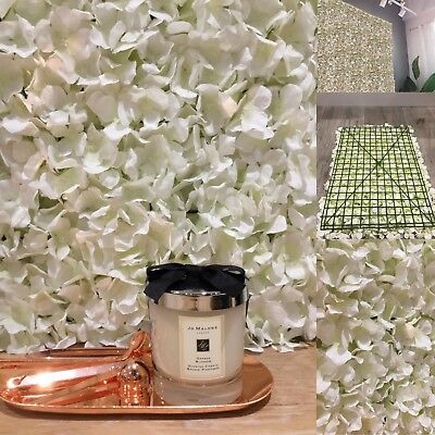 New Artificial Flower Hydrangea Wall Panel for Wedding Venue Decoration Home