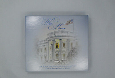2009 The White House Historical Assoc Christmas Ornament~Grover Cleveland