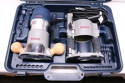 Bosch Modular Router System with 1617EVS Router & RA1166 Plunge Base in Case
