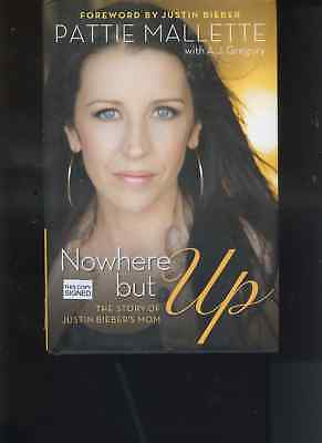 JUSTIN BIEBER and mother PATTIE MALLETTE signed NOWHERE BUT UP free media SHIPIN