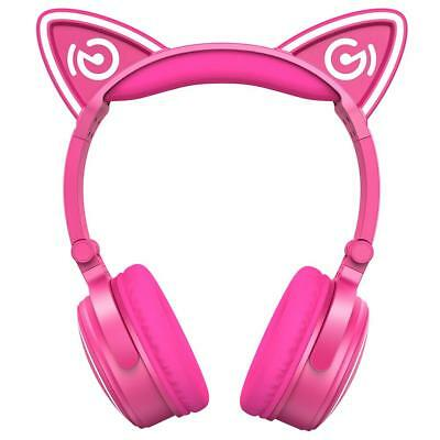 Cat Ear Headphones Mindkoo Unicat Wireless LED light Glow Earphone bluetooth