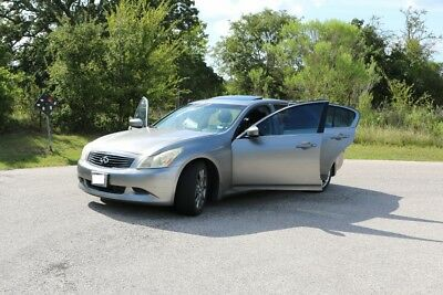 2009 Infiniti G37 Journey with sport package infiniti g37 sedan