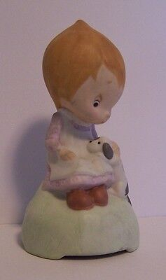 Betsey Clark Puppy Come Out Play With Me Musical  Music Box Vintage Hallmark