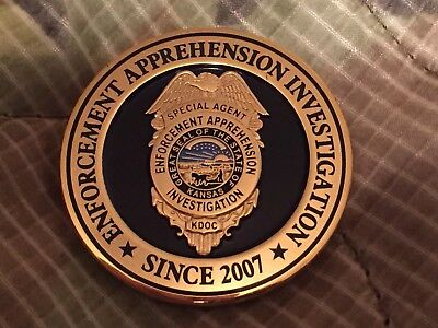 Kansas Department of Corrections challenge Coin