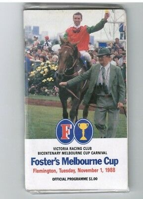 1988 Melbourne Cup Official Race Book - Empire Rose - Horse Racing
