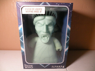 Doctor Who Titans Statue Liberty Weeping Angel 8-Inch Vinyl NEW Sealed