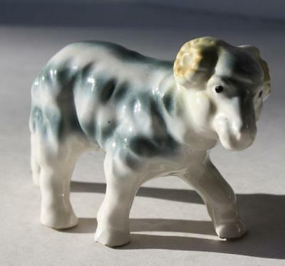 Ram-Sheep-Goat Figurine Made in Japan-Great Vintage Hand Painted  Awesome-Cute