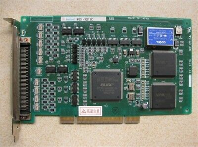 1Pc Used Interface PCI-7212C Daq Data Acquisition Card vs