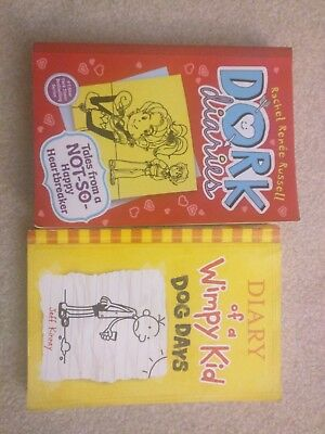 Dork Diaries & Diary of a wimpy kid