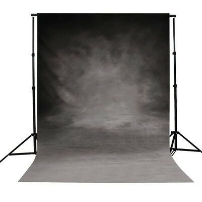 Toile de Fond Backdrop Tissu 90×150cm Photographie Studio Photo Gris Tie dye