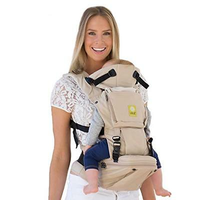 LILLEbaby SeatMe Hip Seat Baby Carrier, Sand