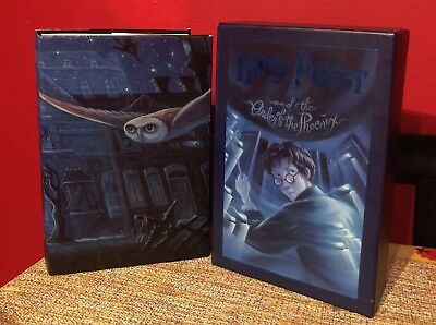 Harry Potter and Order of the Phoenix Deluxe Edition Slipcase book hardcover