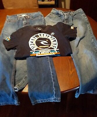 Ripcurl, Quiksilver and Billabong boys clothing size 10-12