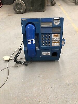 Vintage Retro Blue Telstra Payphone with original wall mount good condition
