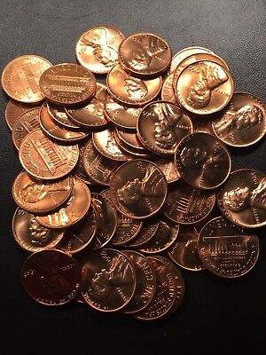 One Roll Of Mixed Sms Bu Lincoln Cents