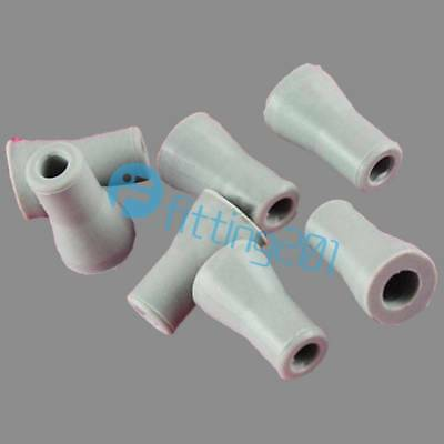 10Pcs Dental Adapter Replacement Saliva Ejector Weak Suction Rubber Snap Tip