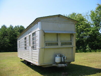 Vintage 1959 Hicks 31ft Travel Trailer Very Nice !
