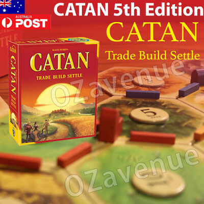 OEM Settlers of Catan 5TH EDITION Base Edition Board Game