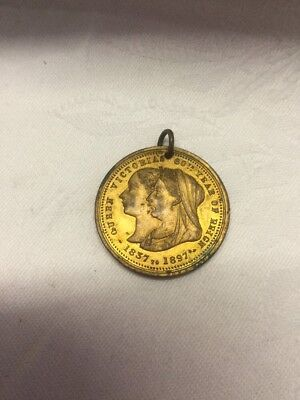 Vintage Queen Victoria's 60 Th Year Of Reign 1837 To 1897 Medal